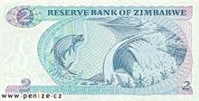 Zimbabwský dolar 2
