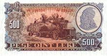 Albánský Lek 500