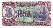 Albánský Lek 1000