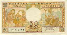 Belgický frank 50