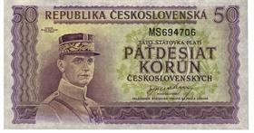 Padesát korun československých