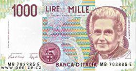 Italská měna je lirá