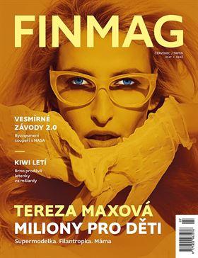 Tereza Maxová titulka Finmag