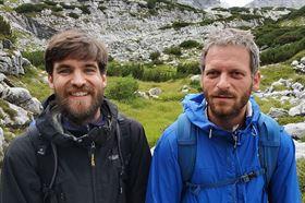 Vít Lesák a Štěpán Ripka (vpravo)