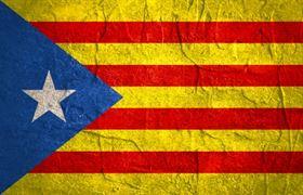 katalánská vlajka