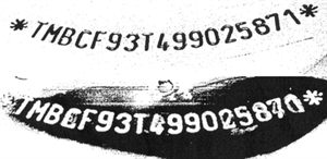 Zmanipulovaný VIN kód