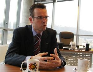 Generální ředitel mBank Jiří Báča