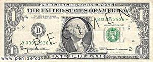 Washington z Muzea peněz