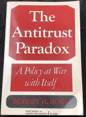 Antitrust Paradox. První vydání