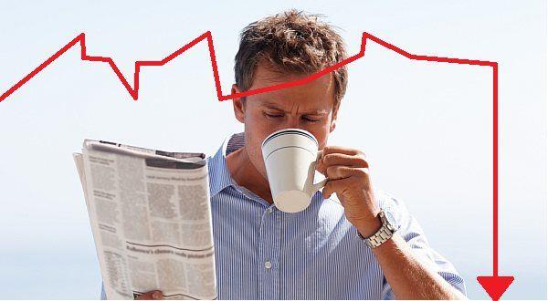 Černé ráno investora: když akcie přes noc ztratí 75 procent