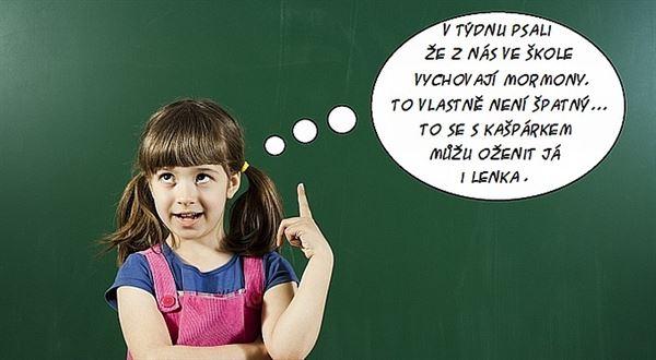 Slušné děti se drží stranou