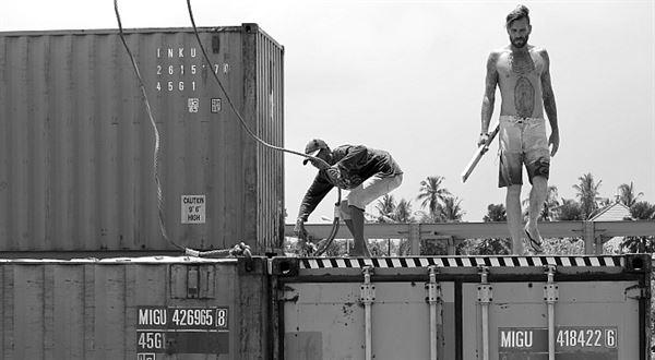 Na pankáče. Na Bali