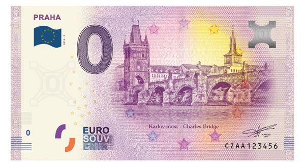 """Po Gottovi Karlův most. Do prodeje jdou nová suvenýrová """"eura"""""""