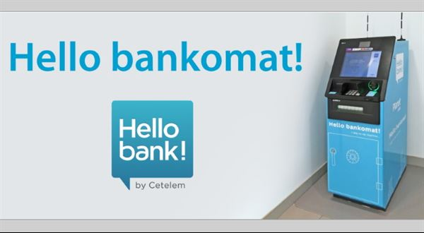 Hello bank spouští vlastní bankomaty. Chystá je i Equa