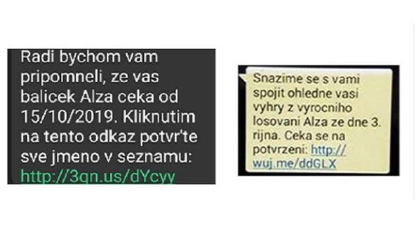 Pozor na podvodnou SMS, tváří se jako výhra od Alza.cz