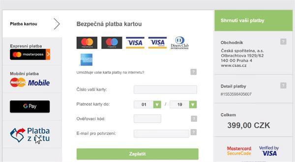 Otevřené bankovnictví na Aukru. Zaplatíte novým tlačítkem