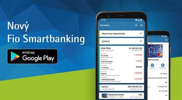 Fio má novou aplikaci pro Android, dohání konkurenci