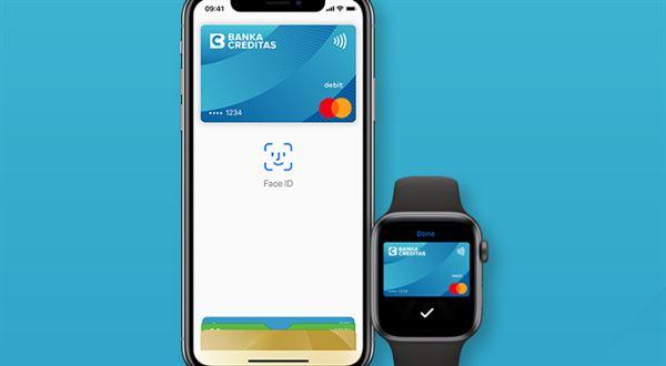 Banka Creditas spustila Apple Pay