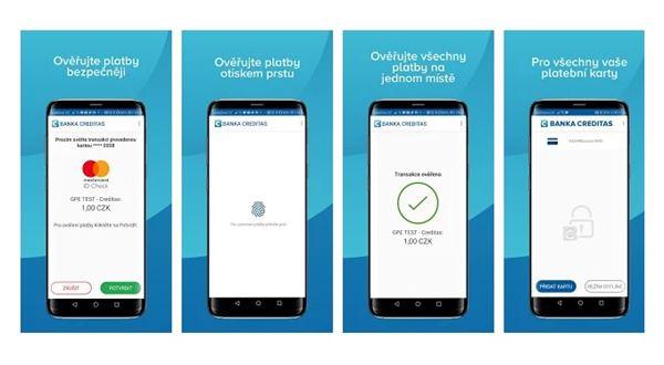 Creditas a UniCredit mají novou aplikaci pro platby kartou