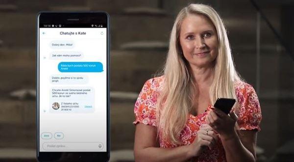 Klienti ČSOB dostanou digitální asistentku Kate