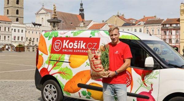Košík přidává České Budějovice, zkouší nový model