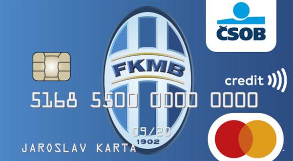 ČSOB má novou platební kartu pro fotbalové fanoušky