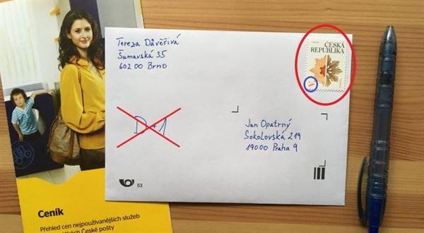 Změna v posílání dopisů. D+1 už psát nemusíte