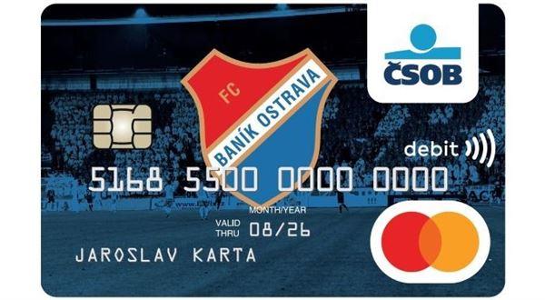 Fanoušci Baníku a Dukly mají klubové platební karty