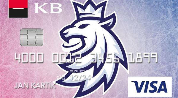 Komerční banka hraje hokej a má novou kartu