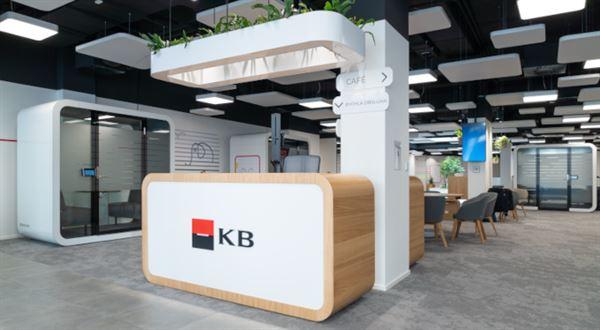 Komerční banka spouští nový typ poboček