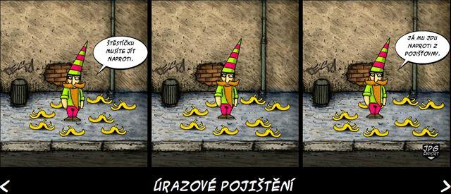 Dovolte, vašnosti, neráčíte být pan Purkrábek, zástupce banky Slávie?