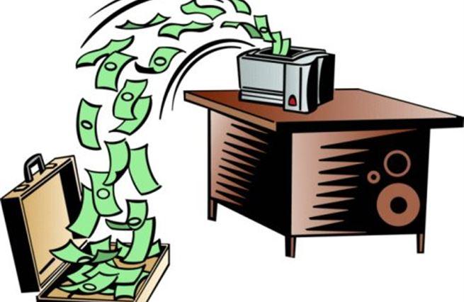 Tradiční tisknutí peněz