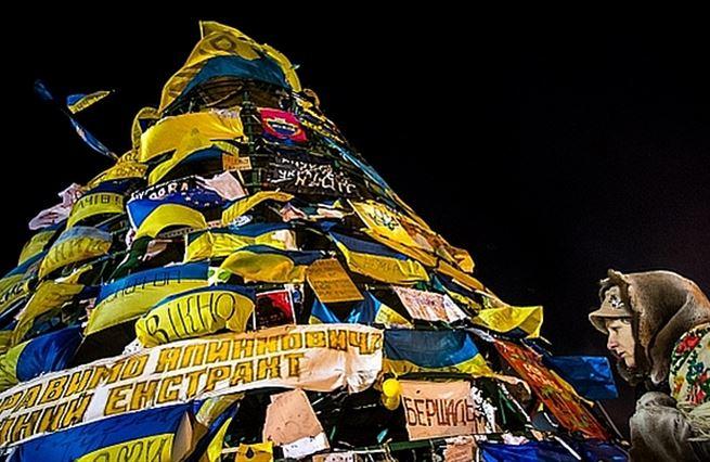O Ukrajině nerozhodnou ideály, ale miliardy