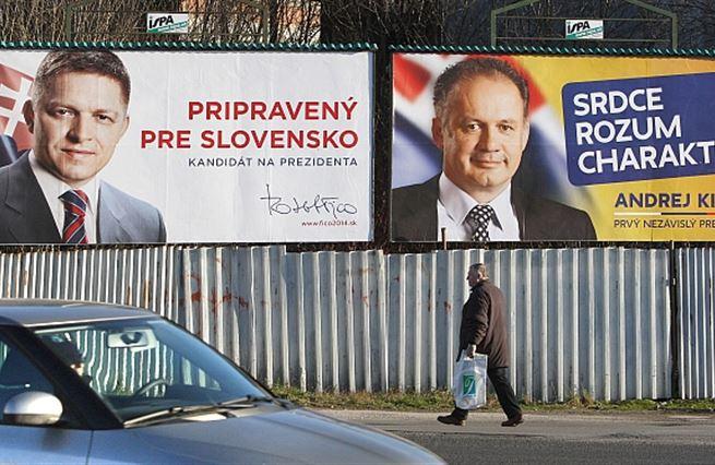 Slováci volí prezidenta. Pošlou politiky k šípku?