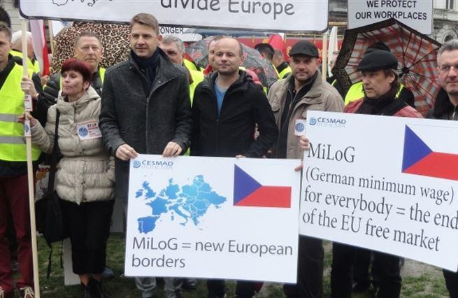 Z deníku europoslance: Německá minimální mzda bere práci českým speditérům