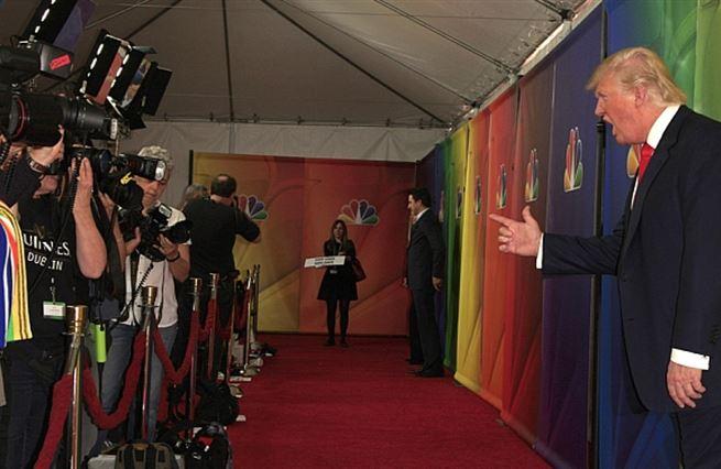 Trumpova kampaň je jen pokračování jeho televizní reality show
