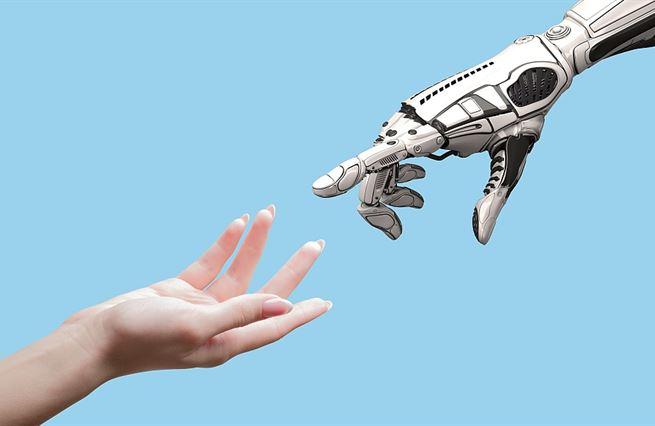 Lednový Finmag. Roboti podávají ruce