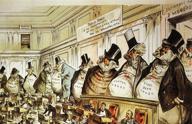 Čaj, železnice, Amazon. Jak monopoly škrtily USA
