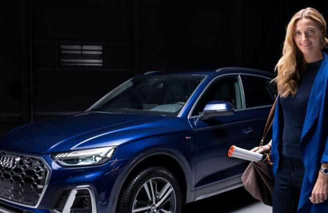 Perfect match: Petra Kvitová a její nové Audi Q5