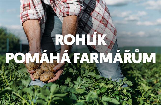 Rohlík pomáhá farmářům
