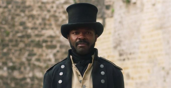 David Oyelowo. Les Miserables. Komisař Javert