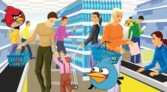 Naštvaní ptáci útočí na vaše peněženky. Přes vaše děti!