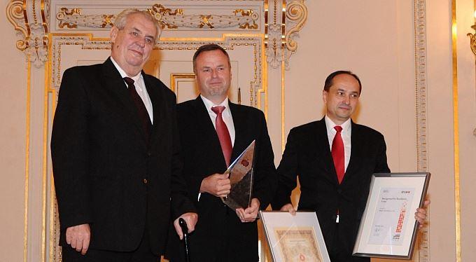 Ve Španělském sále byly předány prestižní Národní ceny
