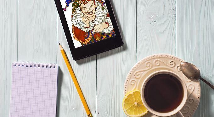 Stáhněte si výběr z Kašpárka do tabletu nebo čtečky