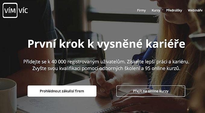 Trend online vzdělávání: Co všechno nabízí portál VímVíc.cz?