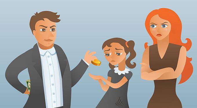 Vymáhání alimentů: Pomoc od státu, soud či exekutor