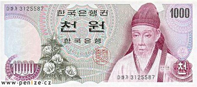 Jihokorejský won