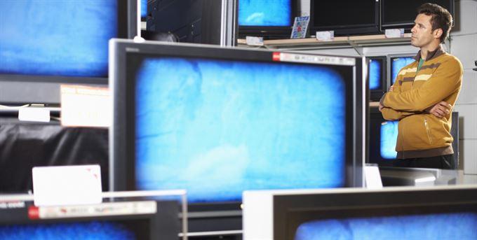 Finanční reklama v TV