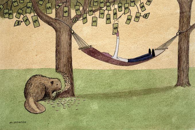 Recese a úrokové sazby