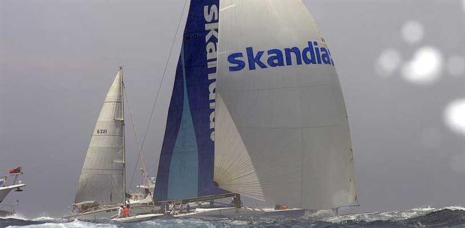Skandia: Po větru či proti němu?